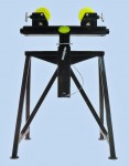 Adjustable Height Roller Stand for Pipe Welding