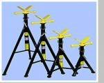 V-Head Pipe Jack Stands Pipe Welding Stand